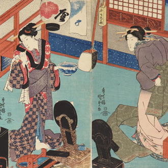 国貞 流行美人合 KUNISADA A COLLECTION OF FASHIONABLE BEAUTIES