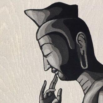 徳力富吉郎 弥勒菩薩 TOKURIKI, TOMIKICHIRO THE MAITREYA