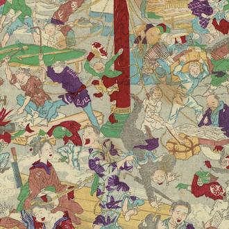 惺々暁斎 暁斎楽画 第十号|KYŌSAI DRAWINGS FOR PLEASURE BY KYŌSAI NO.10