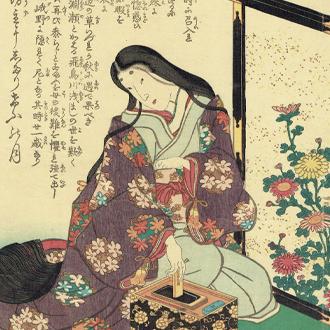 三代豊国 古今名婦傳 白拍子祇王|TOYOKUNI-Ⅲ SHIRABYŌSHI,GIŌ: BIOGRAPHIES OF FAMOUS WOMAN OF ALL AGES