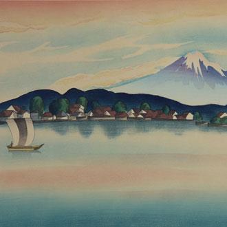 豊成(山村耕花) 出雲冨士 TOYONARI (YAMAMURA,KŌKA)  MT.FUJI OF IZUMO