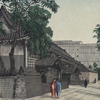 ノエルヌエット 東京風景 黒門  NOEL, NOUET KUROMON GATE, TOKYO