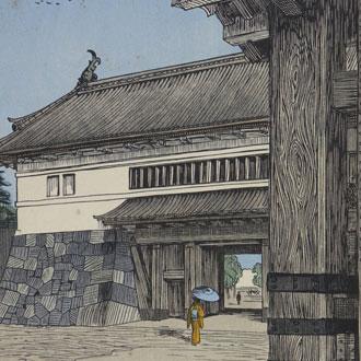 ノエルヌエット 東京風景 櫻田門 NOEL, NOUET  SAKURADAMON GATE, TOKYO