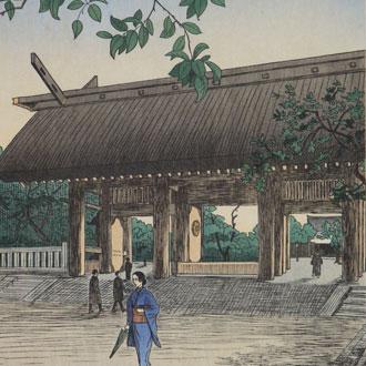 ノエルヌエット 東京風景 靖國神社 NOEL, NOUET YASUKUNI SHRINE,TOKYO